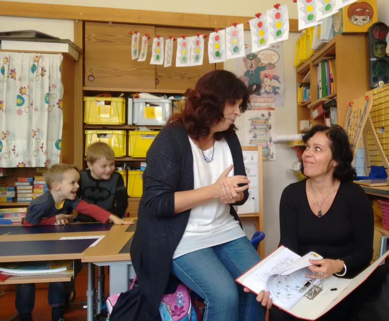 Czech teachers visit their colleagues in Vienna